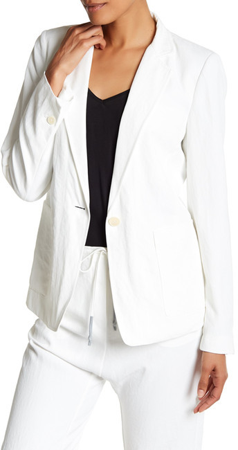 DKNY DKNY Notch Collar Long Sleeve Jacket