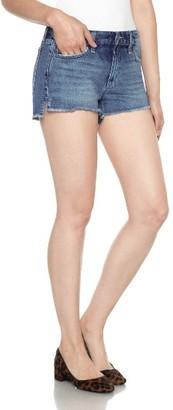 Women's Joe's Collector's High/low Denim Shorts $99 thestylecure.com