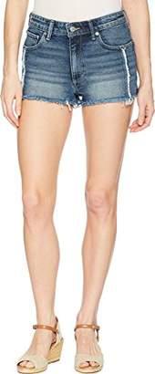 Lucky Brand Women's HIGH Rise Shortie Jean Short in