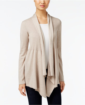 Style & Co Ribbed Open-Front Cardigan, Only at Macy's $59.50 thestylecure.com