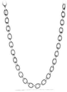 David Yurman Oval Large Link Necklace $850 thestylecure.com