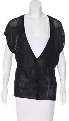 Emilio Pucci Knit Short Sleeve Cardigan