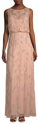 Adrianna Papell Blouson Gown