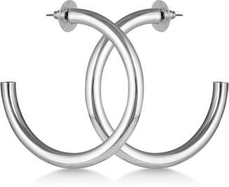 """GUESS 2 1/4"""" Tubular Open Hoop Earrings"""