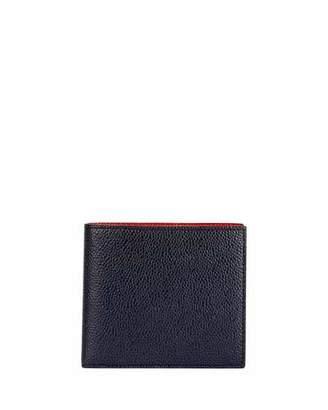 Thom Browne Men's Colorblock Leather Bi-Fold Wallet