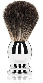 Olivina MEN Shave Brush - Chrome