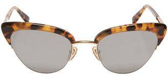 Sunday Somewhere Pixie Tort Sunglasses $290 thestylecure.com