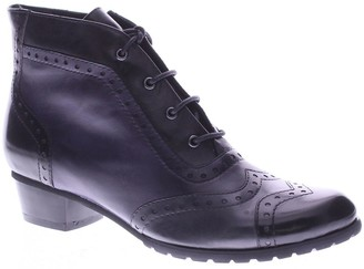 Spring Step Leather Booties - Heroic