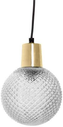 BLOOMINGVILLE Etched Glass Pendant Lamp