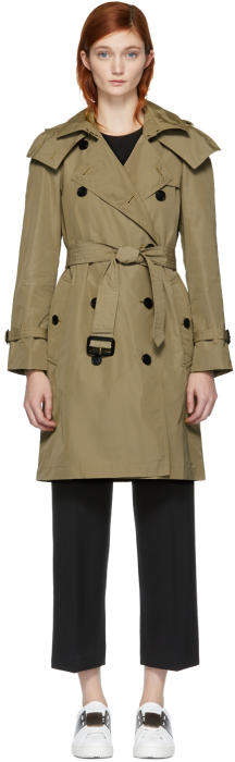 Burberry Tan Amberford Trench Coat