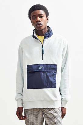 Nike Half-Zip Colorblock Fleece Sweatshirt