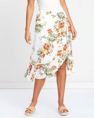 Cotton On Woven Dana Drapey Midi Skirt