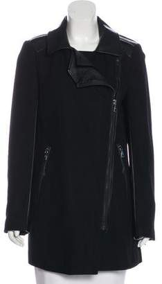 Sam Edelman Wool Knee-Length Coat