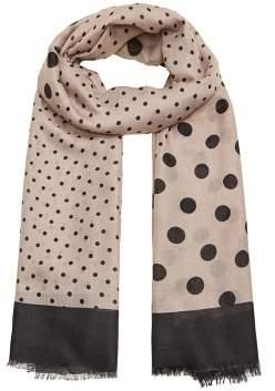 MANGO Unequal moles scarf