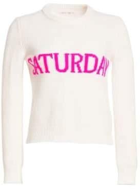 Alberta Ferretti Women's Saturday Wool& Cashmere Sweater - White - Size 40 (4)