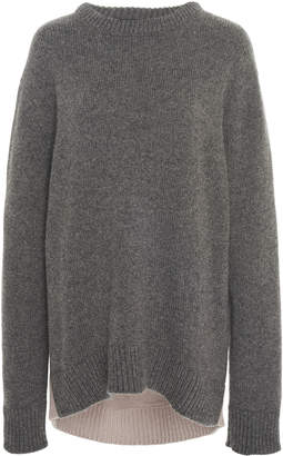 Derek Lam Colorblocked Cashmere Sweater