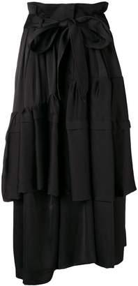 Christian Wijnants tiered shirt dress