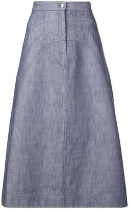 Jill Stuart A-line denim skirt