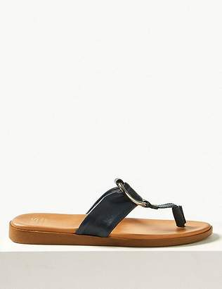 2dce23560c6 Marks and Spencer Leather Toe Thong Sandals