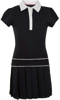 U.S. Polo Assn. USPA Button-Front Pleated-Bottom Dress - Preschool Girls 4-6x