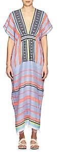 Lemlem Women's Folkloric & Striped Cotton-Blend Cover-Up Dress