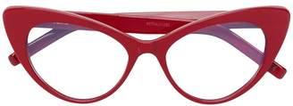 Saint Laurent Eyewear cat eye frame glasses