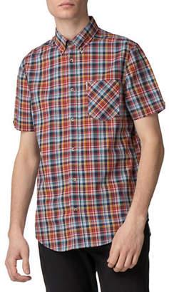 Ben Sherman Multicolour Plaid Sport Shirt