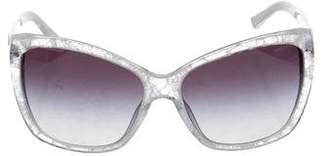 Dolce & Gabbana Lace Cat-Eye Sunglasses