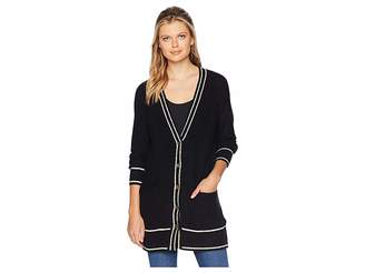 Lucky Brand Button Front Cardigan Sweater