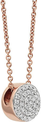 Monica Vinader Ava 18ct Rose Gold-Plated Necklace