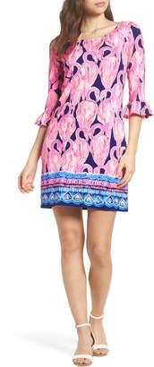 Lilly Pulitzer R) Sophie UPF 50+ Shift Dress