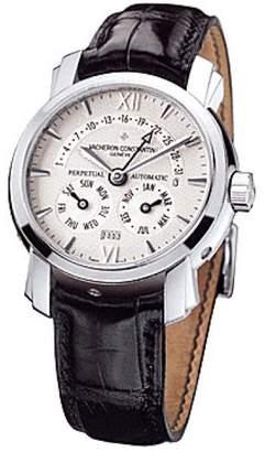"Vacheron Constantin Vacheron & Constantin "" Malte 31 Day Retrograde Perpetual Calendar"" Platinum Watch"