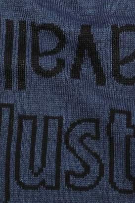 Just Cavalli Intarsia-Knit Scarf