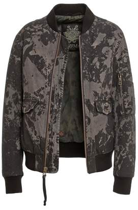 Mr & Mrs Italy Bomber Trendy Canvas Real Feather Goose