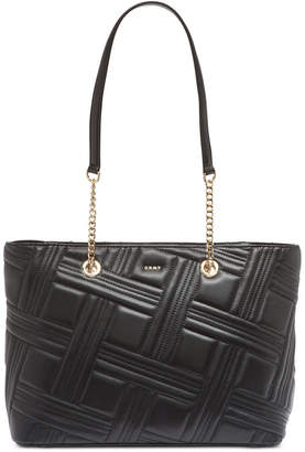 DKNY Allen Leather Chain Tote