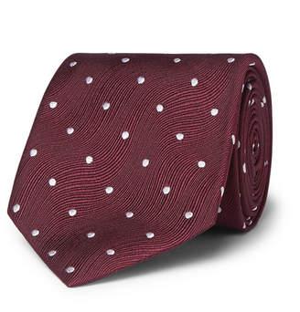 Tom Ford 8cm Polka-Dot Silk-Jacquard Tie