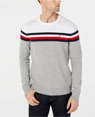 4f34c02a0 Tommy Hilfiger White Men s Sweaters - ShopStyle