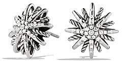David Yurman Women's Starburst Small Earrings with Diamonds