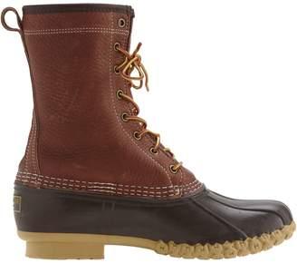 L.L. Bean L.L.Bean Men's Tumbled-Leather Shearling-Lined Bean Boots
