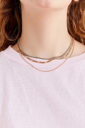 Urban Outfitters Simple Chain Necklace Set