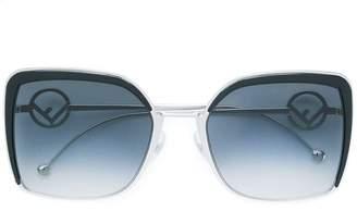 Fendi Eyewear oversized sunglasses
