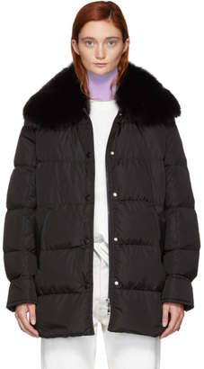 Moncler Black Down Mesange Jacket