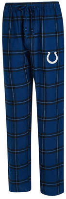 Concepts Sport Men Indianapolis Colts Homestretch Flannel Sleep Pants