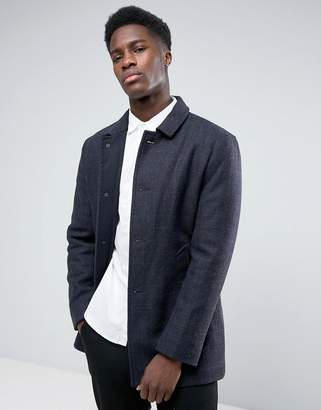 Selected Wool Car Coat