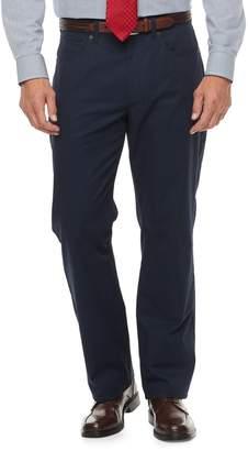 Croft & Barrow Big & Tall Classic-Fit Stretch Flannel-Lined 5-Pocket Pants