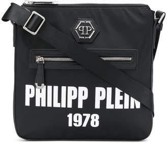 Philipp Plein logo messenger bag