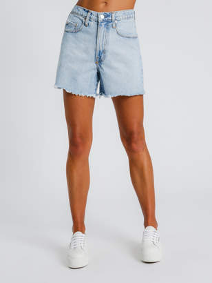 Santorini Nobody Denim Stevie Denim Shorts in Blue