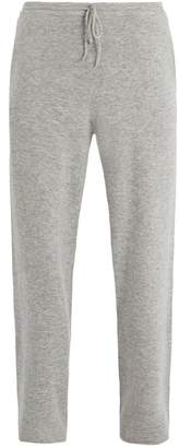 Allude Drawstring Waist Cashmere Track Pants - Mens - Grey