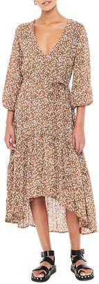 Faithfull The Brand Matilda High/Low Peasant Dress