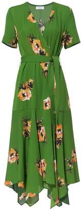 A.L.C. Cora Floral Wrap Dress